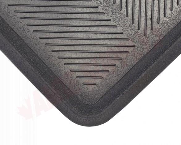 Photo 2 of BTT221632 : Edgewood Rubber Boot Tray 1-1/4' x 2-1/2' Black