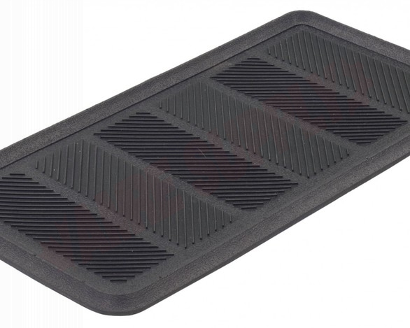 Photo 3 of BTT221632 : Edgewood Rubber Boot Tray 1-1/4' x 2-1/2' Black