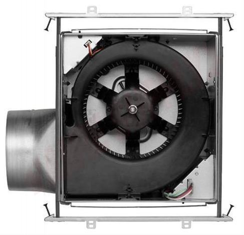 Photo 4 of XB110LC : Broan Nutone ULTRA GREEN Single-Speed Exhaust Fan with Light & Nightlight, 110 CFM