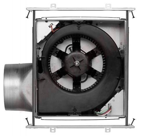 Photo 4 of ZB90C : Broan Nutone ULTRA GREEN Bath Exhaust Fan, 90 CFM 0.3 Sone
