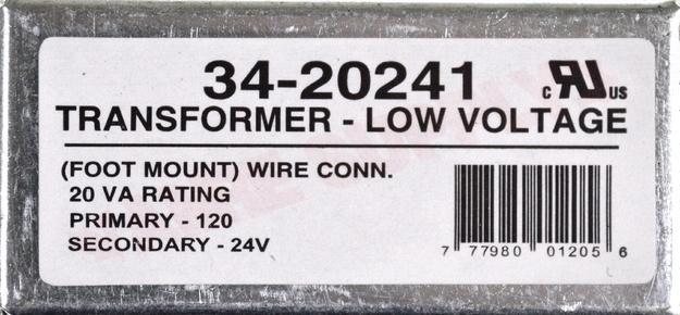 Photo 13 of 34-20241 : Foot Mount Control Transformer, 20VA, 120V