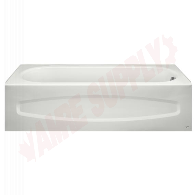 0184331.020 : American Standard Colony Tub, Left Hand, White Steel ...