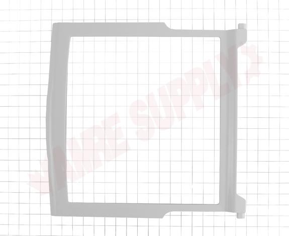 WP2263643 WHIRLPOOL REFRIGERATOR GLASS SHELF ASSEMBLY 2263643