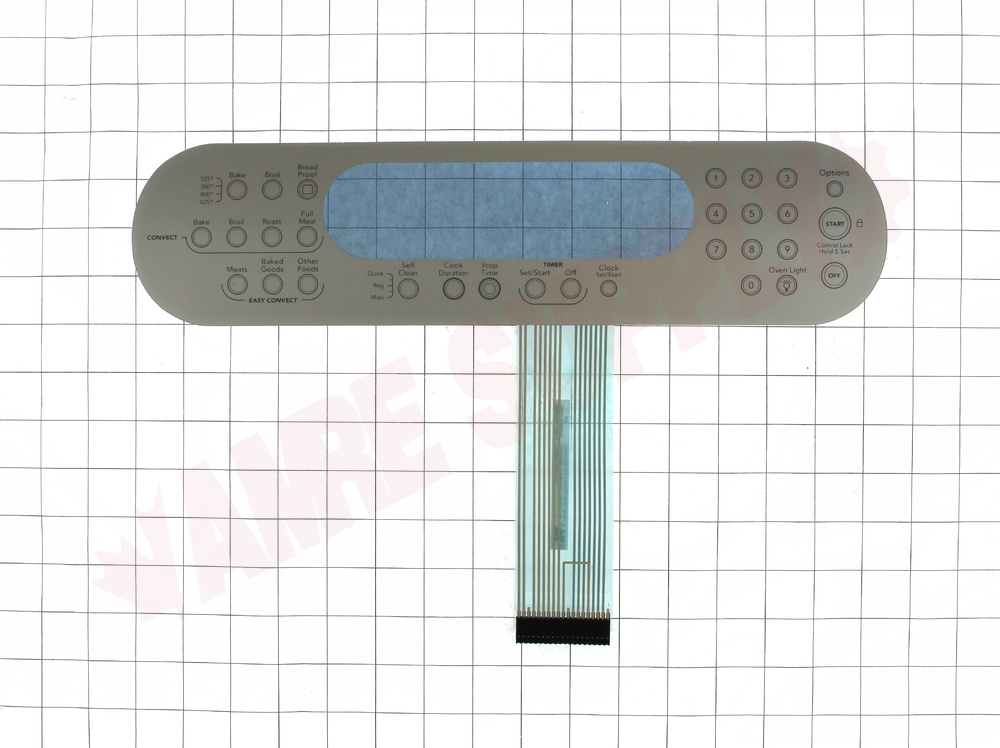 Wp9756559es Whirlpool Range Oven Membrane Switch Stainless