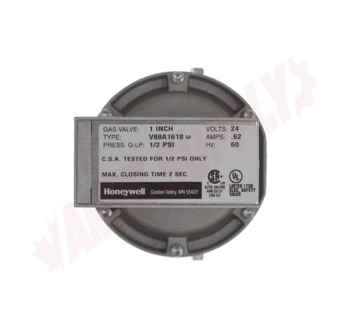 Photo 10 of V88A1717 : Honeywell 2-1/2 NPT, 24 VAC, Normally Closed, Diaphragm Gas Valve