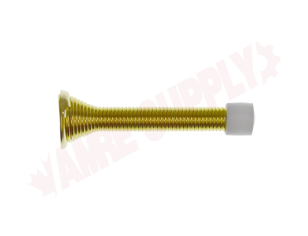 Photo 10 of 25-4671B : Taymor Spring Door Stop, 3-1/8, Polished Brass