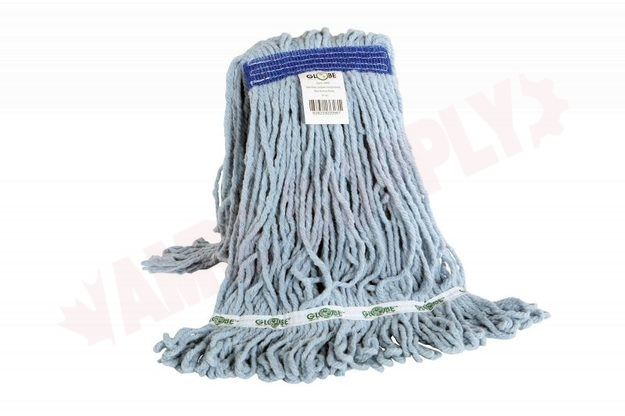 Photo 1 of 3090 : Globe Looped End Synthetic Wet Mop Head, Narrow Band, 16oz, Blue