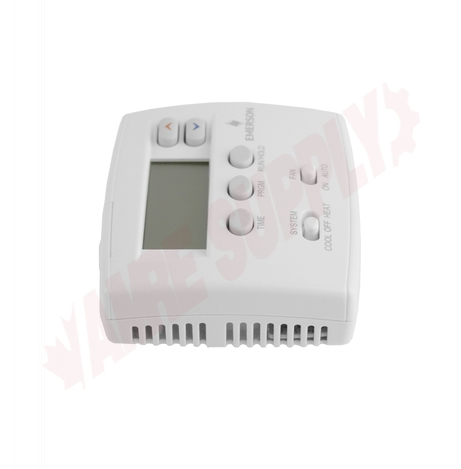Photo 7 of 1F80-0261 : Emerson White Rodgers Blue Series Digital Thermostat, Programmable, Heat/Cool