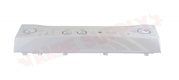 Photo 4 of WW03F00497 : GE Washer & Dryer Control Panel, White