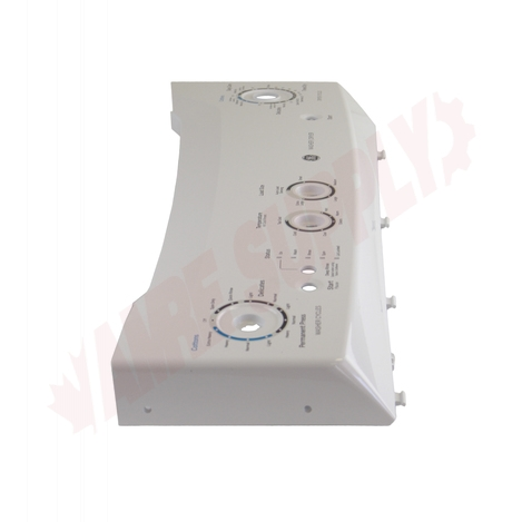 Photo 7 of WW03F00497 : GE Washer & Dryer Control Panel, White
