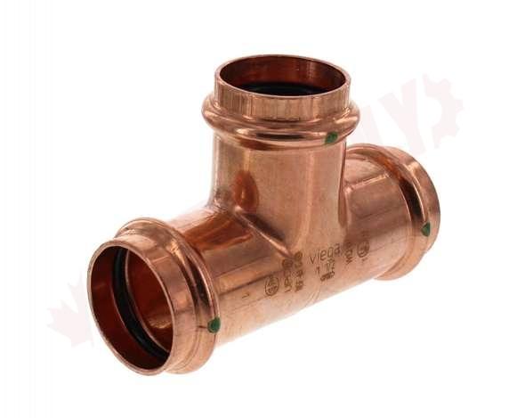 77457 Viega Propress 1 1 2 X 1 1 2 X 1 1 2 Copper Tee Press