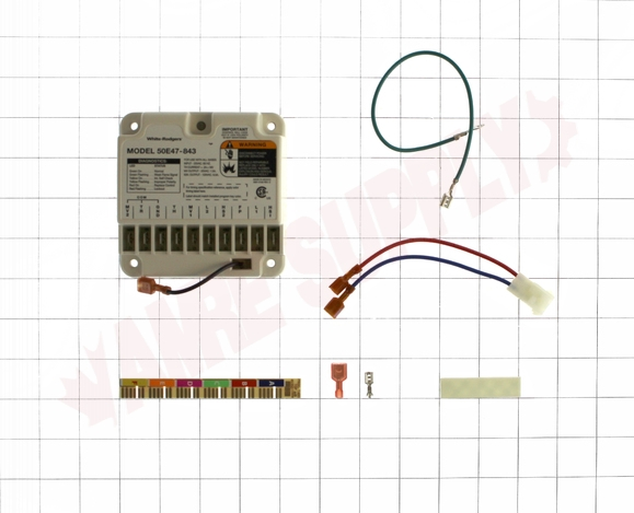 50E47-843 : Emerson White-Rodgers Universal Hot Surface Ignition Module |  AMRE Supply | White Rodgers Module Wiring Diagram |  | AMRE Supply