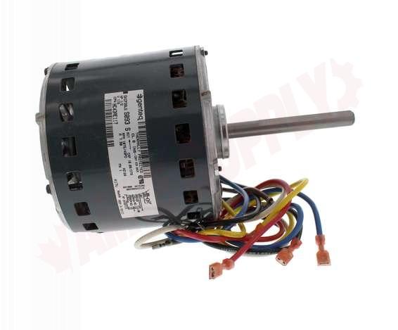 Photo 1 of HC43AE117 : Carrier Fan Motor, 4 Speed, 1/2 HP