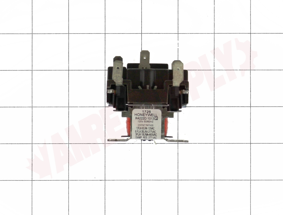 R4222d1013   Honeywell General Purpose Relay  Dpdt Switch Action  120v