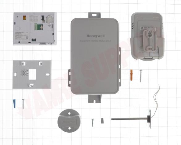 Photo 11 of YTHX9421R5101WW : Honeywell Home Prestige 2-Wire IAQ Digital Thermostat Kit, Programmable, Heat/Cool