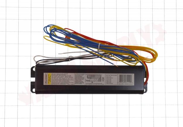 Photo 7 of E296T12PRS120/HO : Standard Lighting Electronic Linear Fluorescent Ballast, 120V