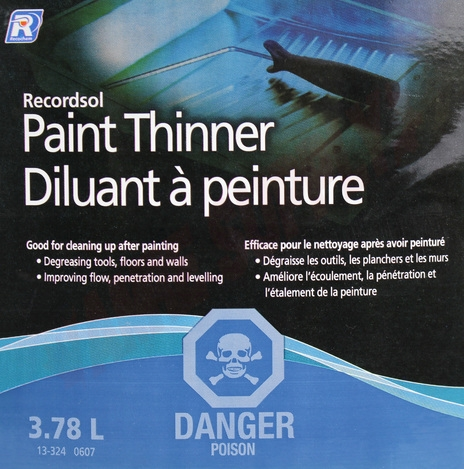 Photo 4 of AA181300 : Recochem Paint Thinner, 3.78L