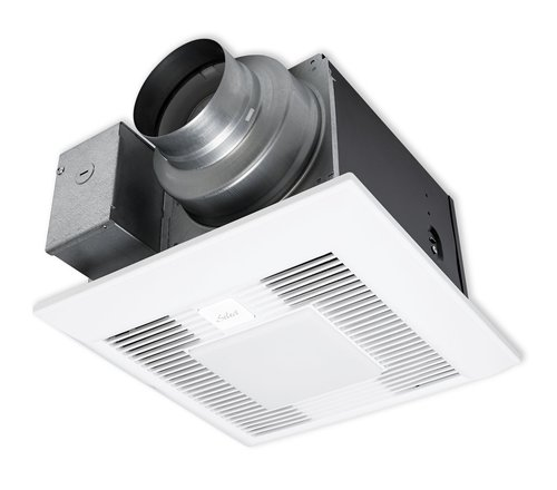 Air King Quiet Zone 280 Cfm Ceiling Bathroom Exhaust Fan: Residential Bathroom & Ceiling (Combination Light & Fan