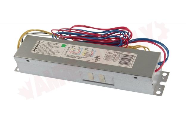 Photo 1 of E296T12PRS347/N/HO : Standard Lighting Electronic Linear Fluorescent Ballast, 347V