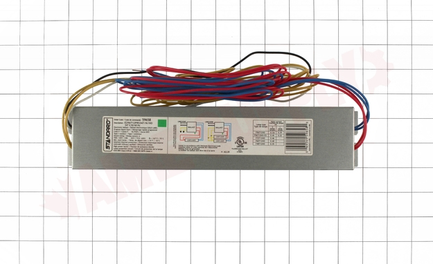 Photo 4 of E296T12PRS347/N/HO : Standard Lighting Electronic Linear Fluorescent Ballast, 347V