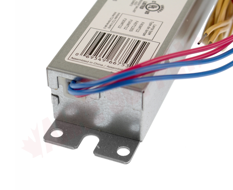 Wiring For Whcg5120t12rs When Used On 2 X F34t12