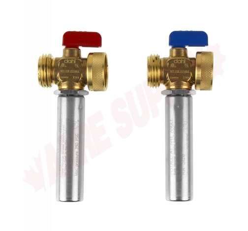 Photo 9 of 121-04-04F-14WHA : Dahl Water Hammer Arrester Valves 2pk For Washing Machines