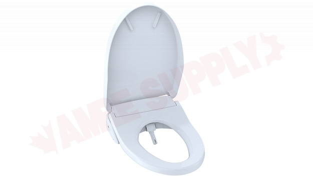 Photo 2 of SW3046#01 : Toto Washlet S500e Elongated Seat, Contemporary, Cotton White