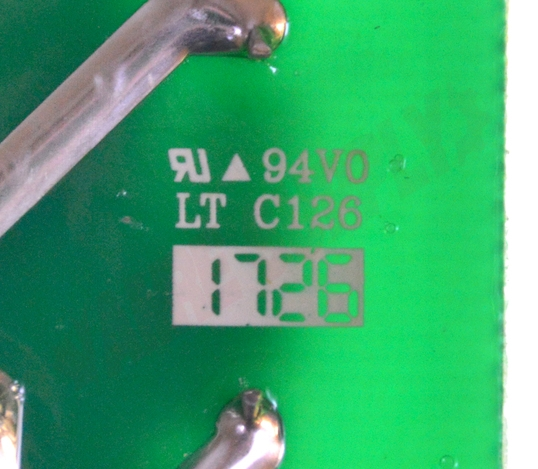 Photo 6 of WW02F00193 : GE Dryer Electronic Control Board