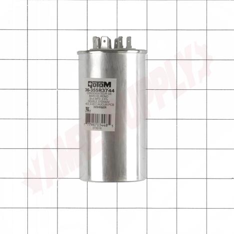 36-355R3744 : Capacitor 35/5MFD 370/440V Round Run Dual Voltage