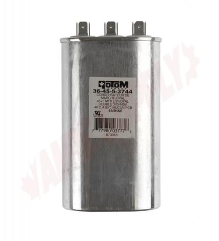 Run Capacitor Oval 370//440V Dual 45//5MFD