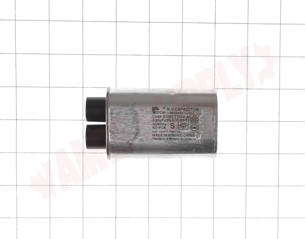 Photo 12 of 8206562 : Whirlpool Microwave High Voltage Capacitor