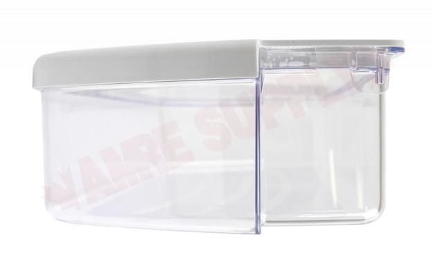 WPW10321304 OEM Whirlpool Refrigerator Door Bin Clear w// white trim