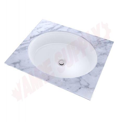 Photo 1 of LT231#01 : Toto Atherton Undermount Bathroom Sink, Cotton White