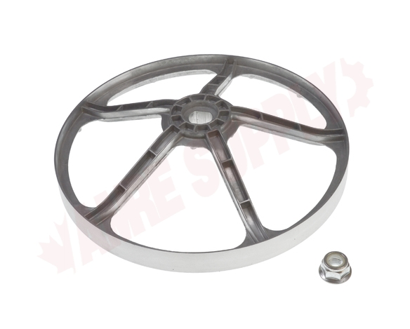 Photo 9 of WG04F00346 : GE Front Load Washer Drive Pulley