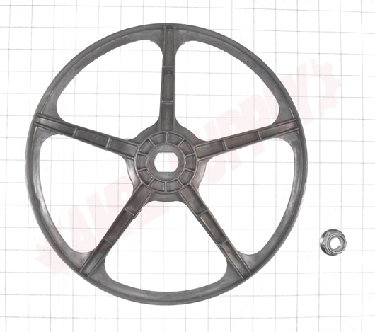 Photo 10 of WG04F00346 : GE Front Load Washer Drive Pulley