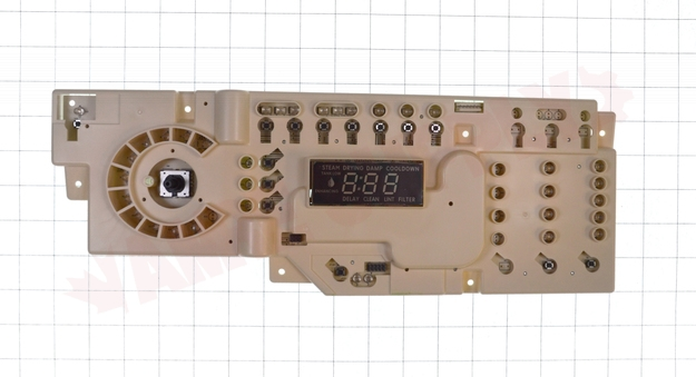 Photo 8 of WW02A00111 : G.E. Dryer User Interface Board Assembly