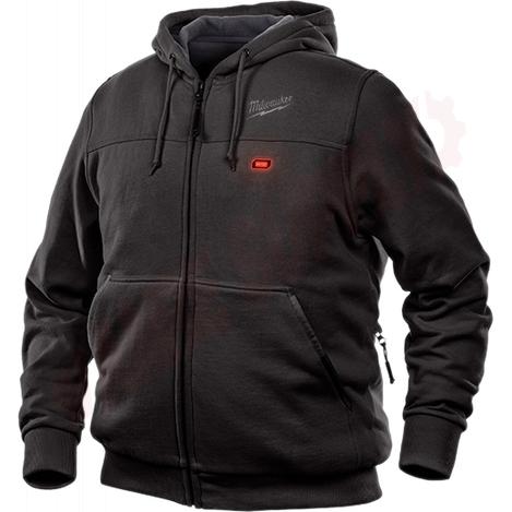Photo 2 of 302B-212X : Milwaukee M12 Heated Hoodie Kit, Black, 2 Extra Large