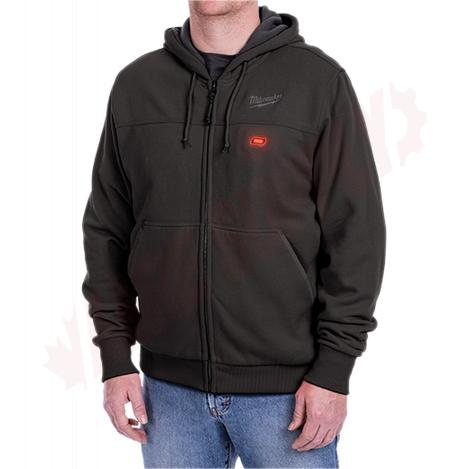 Photo 4 of 302B-212X : Milwaukee M12 Heated Hoodie Kit, Black, 2 Extra Large