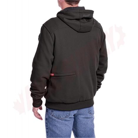 Photo 5 of 302B-212X : Milwaukee M12 Heated Hoodie Kit, Black, 2 Extra Large