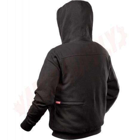 Photo 7 of 302B-212X : Milwaukee M12 Heated Hoodie Kit, Black, 2 Extra Large