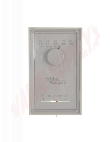 Photo 1 of 1E50N-303 : Emerson White Rodgers 24V Thermostat, Heat Only, Vertical, °C/°F