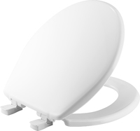 Prime 730Slec 000 Bemis Toilet Seat Round Closed Front White Gmtry Best Dining Table And Chair Ideas Images Gmtryco