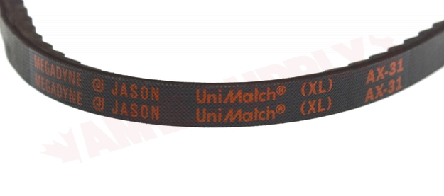 """AX31 Major Branded AX Cogged V Belt 13x8mm 31/"""""""