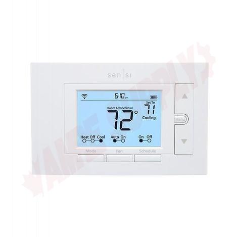 Photo 2 of 1F87U-42WFC : Emerson White Rodgers Sensi Wi-Fi Thermostat, Programmable, Heat/Cool