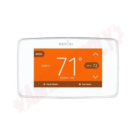 Photo 3 of 1F95U-42WFC : Emerson White Rodgers Sensi Touch Wi-Fi Thermostat, Programmable, Heat/Cool