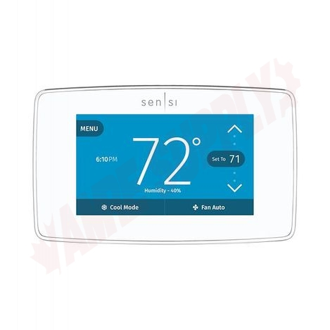 Photo 4 of 1F95U-42WFC : Emerson White Rodgers Sensi Touch Wi-Fi Thermostat, Programmable, Heat/Cool