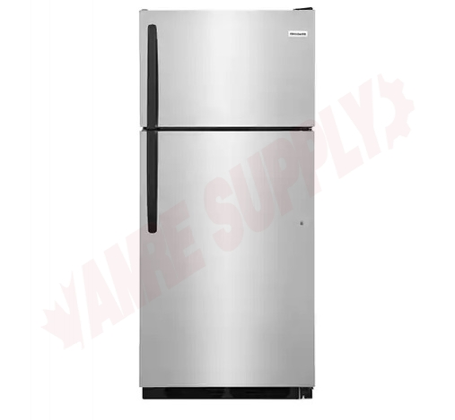 Photo 1 of FFHT1621TS : Frigidaire 16.3 cu. ft. Refrigerator, Top Freezer, Stainless Steel