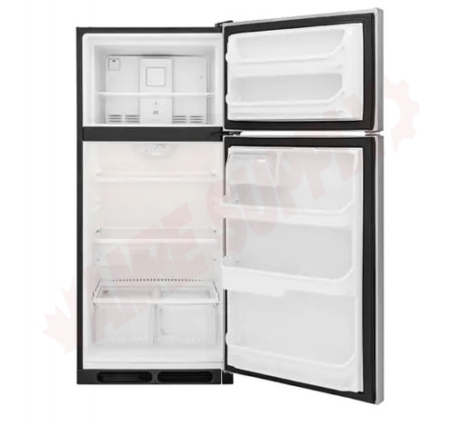 Photo 2 of FFHT1621TS : Frigidaire 16.3 cu. ft. Refrigerator, Top Freezer, Stainless Steel