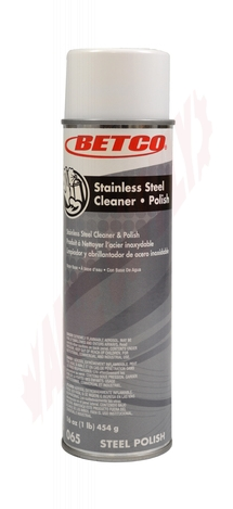 Photo 1 of 0652300 : Betco Stainless Steel Aerosol Cleaner/Polish, 454g