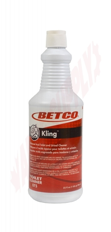 Photo 1 of 0751200 : Betco Kling 9% Thickened Toilet Bowl Cleaner, 907mL